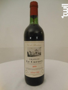 Château Le Carney - Château Le Carney - 1979 - Rouge