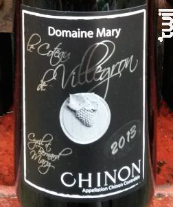 Le Coteaux de Villégron - Domaine Mary - 2014 - Rouge