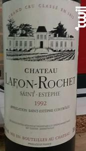 Château Lafon-Rochet - Château Lafon-Rochet - 1992 - Rouge
