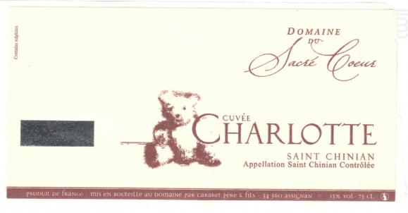 Cuvée Charlotte (Grand Cru Virtuose) - Domaine du Sacré Coeur - 2016 - Rouge