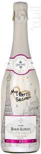 Cuvée Jean-Louis My Paris Secret Brut Rosé - Charles De Fère - Non millésimé - Effervescent