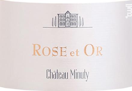 Minuty Rose et Or - Château Minuty - 2020 - Rosé