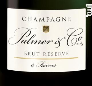 Champagne Palmer Brut Réserve - Champagne Palmer - Non millésimé - Effervescent