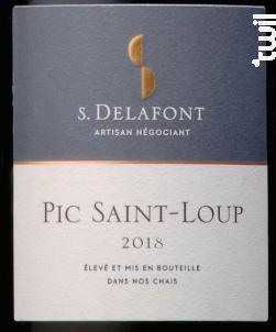 Pic Saint Loup - Maison S.Delafont - 2018 - Rouge