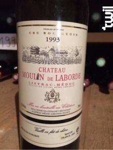 Château Moulin de Laborde - Château Moulin de Laborde - 1995 - Rouge