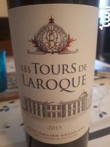 Les Tours de Laroque - Château Laroque - 1989 - Rouge