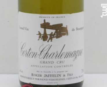 Corton Charlemagne - Jaffelin - 2007 - Blanc