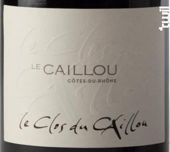 Le Caillou - Clos du Caillou - 2017 - Rouge