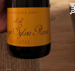 Les Novices - Abbaye Sylva Plana - Vignobles Bouchard - 2017 - Rouge