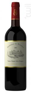 Notre Dame des Songes - Domaine de Bournet  IGP Ardèche - 2016 - Rouge
