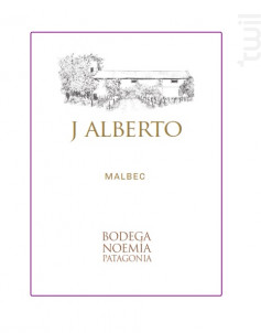 J. Alberto - Malbec - Bodega Noemia Patagonia - 2019 - Rouge