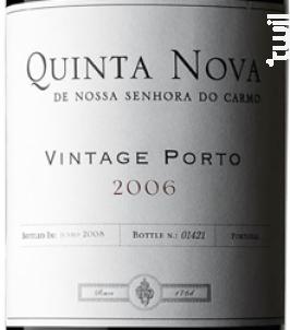 Vintage - Quinta Nova de Nossa Senhora do Carmo - 2002 - Rouge