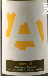 Cuvée Addict 1.23 - Gustave Lorentz - 2010 - Blanc