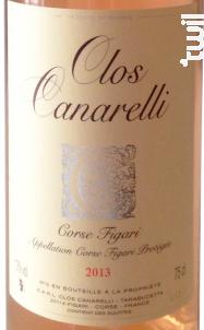 Clos Canarelli - Clos Canarelli - Yves Canarelli - 2017 - Rosé