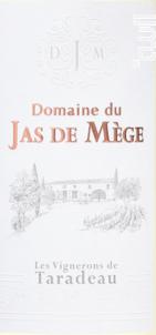 Cuvée Jas de Mège - Les Vignerons de Taradeau - 2017 - Blanc