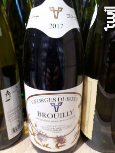 Brouilly - Domaine Georges Duboeuf - 2017 - Rouge