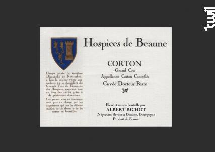 Corton Grand Cru, Cuvée