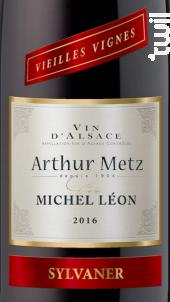 Cuvée Michel Léon Vieilles Vignes Sylvaner - Arthur METZ - 2015 - Blanc