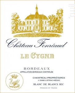 Le Cygne du Château Fonréaud - Château Fonréaud - 2014 - Blanc