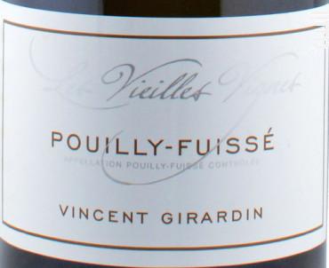Pouilly-Fuissé Vieilles Vignes - Vincent Girardin - 2016 - Blanc