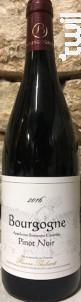 Bourgogne Pinot Noir - Domaine Pierre Thibert - 2016 - Rouge
