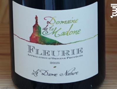 Fleurie • La Dame Nature - Domaine de La Madone - 2018 - Rouge