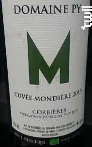 Cuvée Mondière - Domaine Py - 2016 - Rouge