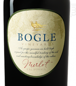 Merlot - Bogle Vineyards - 2015 - Rouge