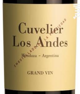 Cuvelier Los Andes Grand Vin - Bertrand Cuvelier - 2009 - Rouge