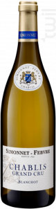 Chablis Grand Cru Blanchot - Simonnet Febvre - 2008 - Blanc