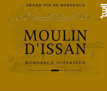 Moulin d'issan - Château d'Issan - 2017 - Rouge