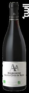 Bourgogne Hautes-Côtes de Nuits BIO - Jean Luc et Paul Aegerter - 2016 - Rouge