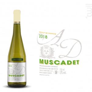 Muscadet - Anne Dexemple et les Héritiers A.D. - 2018 - Blanc