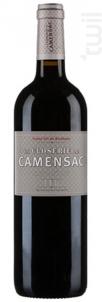 La Closerie de Camensac - Château de Camensac - 2016 - Rouge