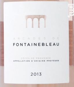 Arcades Fontainebleau - Domaine Fontainebleau en Provence - 2014 - Rosé