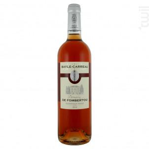 Domaine de Fombertou - Vignobles Bayle-Carreau - 2020 - Rosé