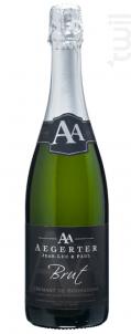 Crémant de Bourgogne Brut - Jean Luc et Paul Aegerter - Non millésimé - Effervescent