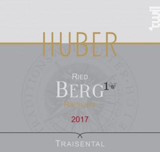 BERG ERSTE LAGE - RIESLING - HUBER - 2018 - Blanc