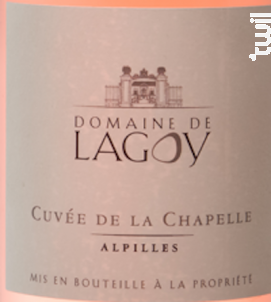 La Chapelle - Domaine de Lagoy - 2019 - Rosé