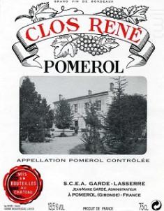 Clos René - Domaine Garde-Lasserre - 2015 - Rouge