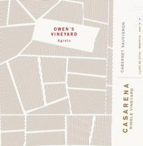 OWEN'S VINEYARD - CABERNET SAUVIGNON - Casarena - 2015 - Rouge
