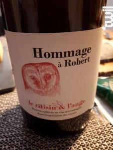 Hommage A Robert - Le Raisin Et L'ange - 2018 - Rouge