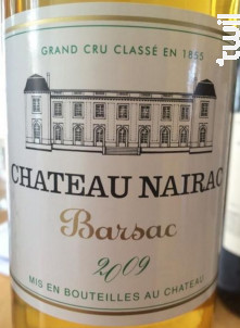 Château Nairac - Château Nairac - 1998 - Blanc