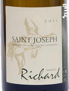 Domaine Richard Saint-Joseph - Domaine Richard - 2016 - Blanc