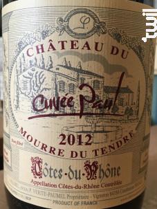 Cuvée Paul - Château du Mourre du Tendre - 2017 - Rouge