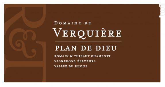 Côtes-du-Rhône Villages Plan de Dieu - Domaine de Verquière - 2019 - Rouge