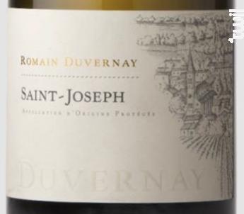 Saint-Joseph - Romain Duvernay - 2017 - Blanc