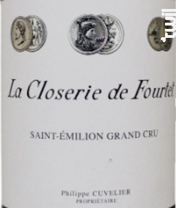 La Closerie De Fourtet - Chateau Fourtet - 2016 - Rouge