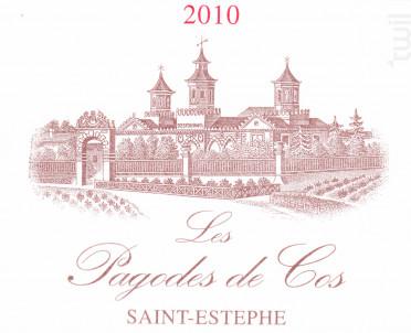Les Pagodes de Cos - Cos d'Estournel - 2010 - Rouge