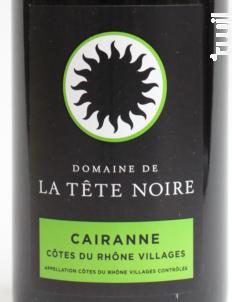 Cairanne - Domaine de la Tête Noire - 2015 - Rouge